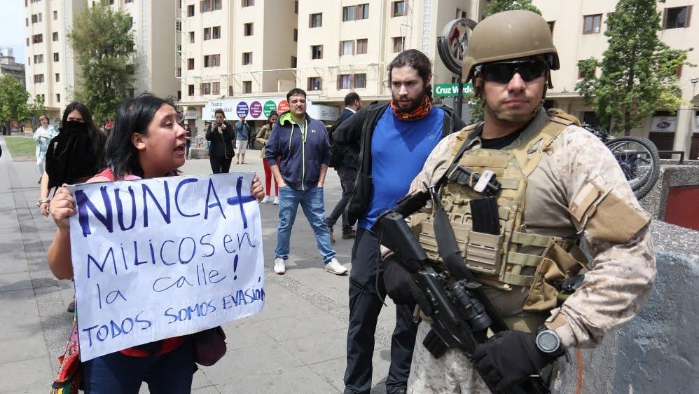 Santiago de Chile - Protest