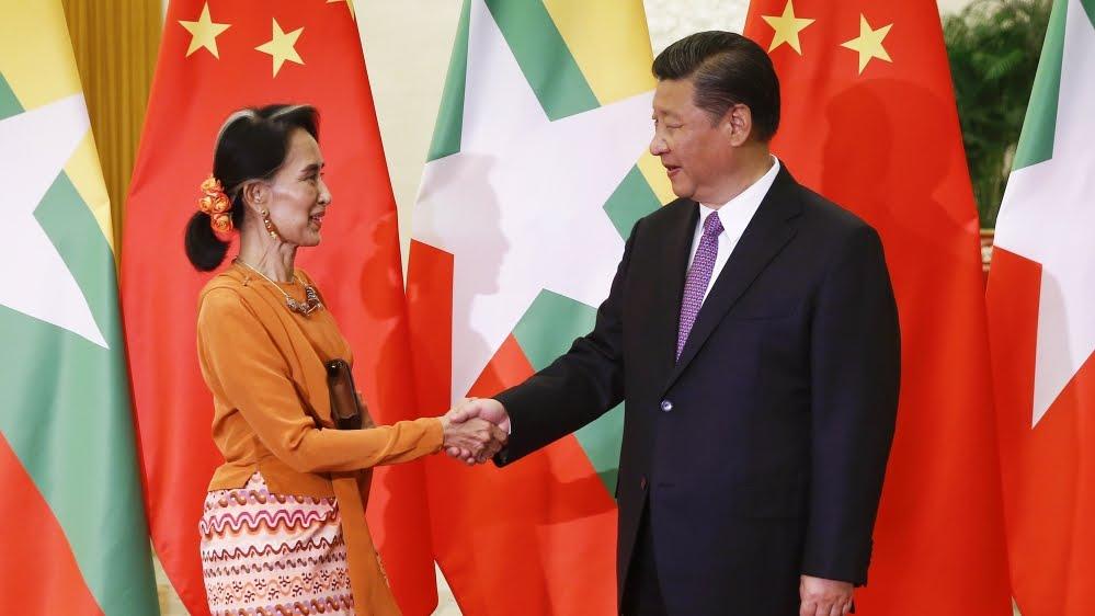 CHINA-MYANMAR-DIPLOMACY